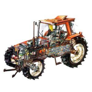Запасные части для тракторов, грузовых авто